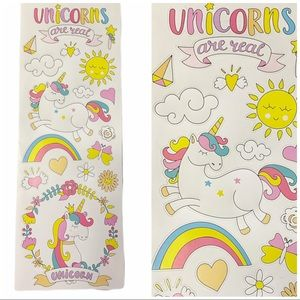 Unicorns are real magical wall stickers